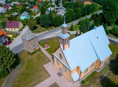 Veiviržėnų bažnyčia ir varpinė