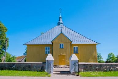 Degučių bažnyčia ir varpinė