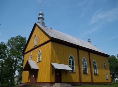 Pašaltuonio bažnyčia ir varpinė