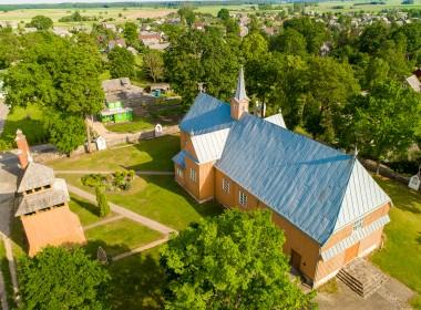 Tryškių bažnyčia ir varpinė