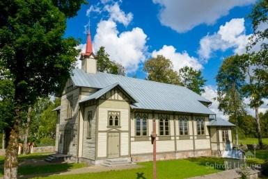 Budrių bažnyčia ir varpinė