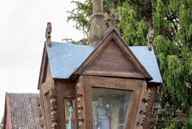 Koplytstulpis Veiviržėnuose