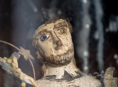 Koplytstulpis su Jono Nepomuko skulptūra