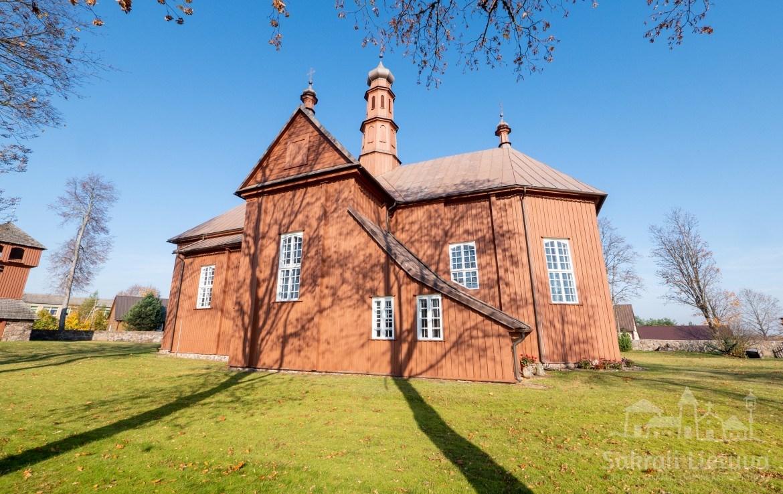 Liolių bažnyčia ir varpinė