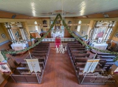 Kalnalio bažnyčia ir varpinė