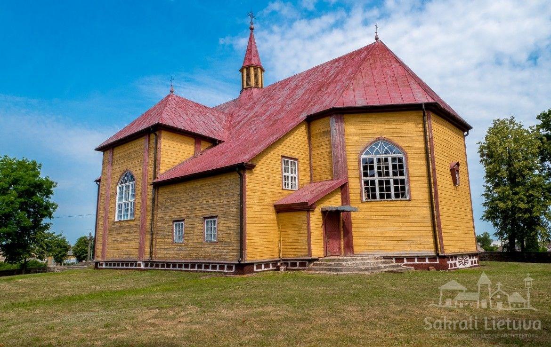Luokės bažnyčia ir varpinė
